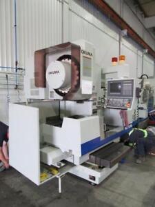 Okuma MC-40 VA Vertical Machining Center CNC Machine
