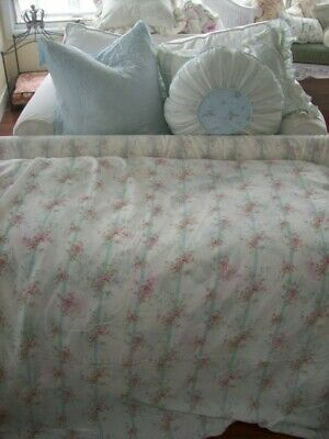 Rachel Ashwell Shabby Chic Couture Bemberg Silk  Rose Trellis Fabric Floral (Trellis Fabric)