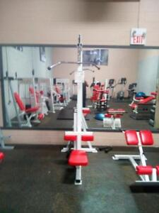 Commercial Fitness Equipment Body Master Lat Pulldown