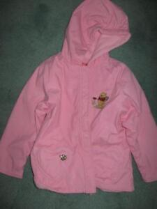 Pink Winnie the Pooh Jacket - size 2
