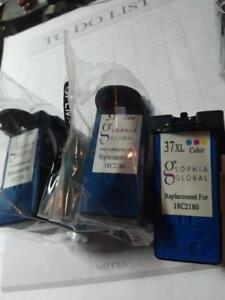 Lexmark 37XL Colour ink Cartridges (3)