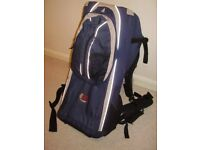 Bushbaby Elite backpack for carrying a baby, used for sale  Eynsham, Oxfordshire