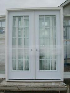 "60"" x 80"" Steel Full Glass Garden Door - NEVER INSTALLED!"