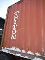 40' HC Storage Containers in need of Minor Work