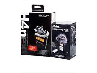 Zoom H4n portable digital recorder with accesories
