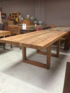 DINING Tables  - Mango Wood, Recycled Teak  BOAT WOOD