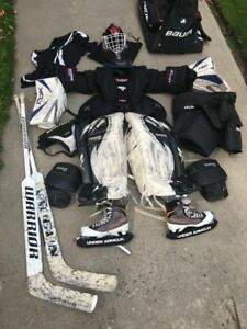 Hockey Goalie Equipment - Full Set (Adult)
