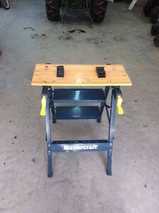 portable work/step bench