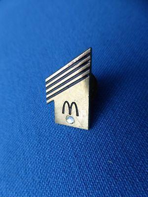 """McDonald`s PIN """"1""""  mit Strass Stein - Abzeichen Anstecknadel"""