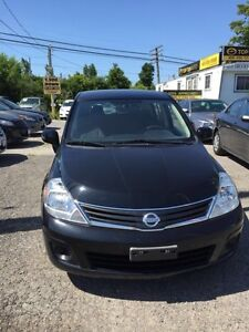 2012 Nissan Versa FULLY CERTIFIED- UBER DRIVERS WELCOME ECONOMIC