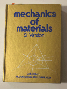 Mechanics of Materials, SI Version, 3rd Edition