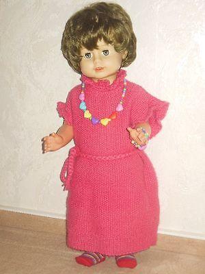 Schildkröt Puppe 58 cm Schlafaugen Schlafaugenpuppe