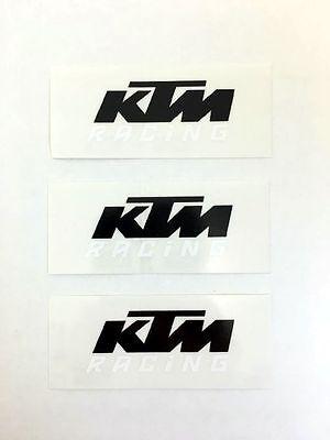 XY000333 KTM Logo Original Sticker Aufkleber KTM Racing Schriftzug Super Duke