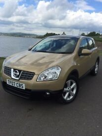 Nissan Qashqai November 2007 Automatic with panoramic roof and full leather interior