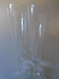 Crystal Glasses -from Fort Theatre - Westfort