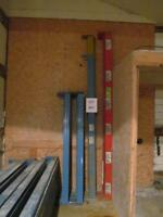 Warehouse upright frames and cross beams for sale