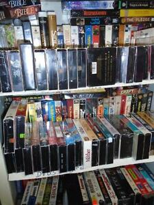 VHS Movies Buy 100 at $1.00 Each - get 50 Free