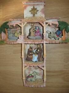 Cross Depicting the Birth of Jesus