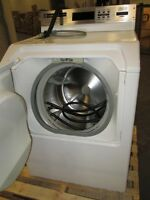 commercial washer and Maytag dryer