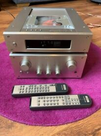 Sony CDP-X3000ES CD player + Sony TA-F3000ES Amplifier
