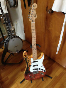 Fender Special Edition David Lozeau Art