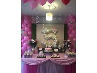 Party decoration and Activities