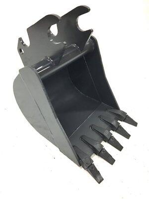 24 Excavator Bucket 5 Teeth Fits Kubota U55 Kx057 Excavator
