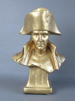 Napoleon Vintage Statue Bust in Chalk Golden Period Xx Century