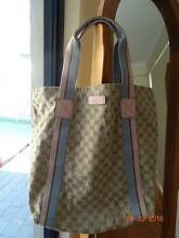 *AUTHENTIC* Gucci Beige/Pink GG Canvas Large Tote Bag Manning South Perth Area Preview