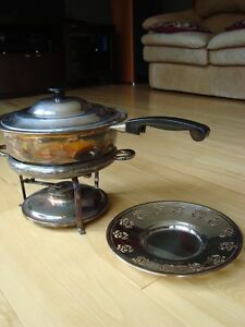 Vintage Copper Chafing/ Warming / Fondue Pot - Great Condition Kitchener / Waterloo Kitchener Area image 3