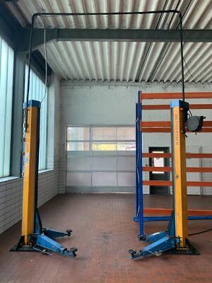 HH Intertech 3000Kg 3tonnen KFZ Werkstatt 2 Säulen Hebebühne #34801