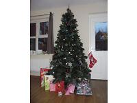210 cm luxury christmas tree