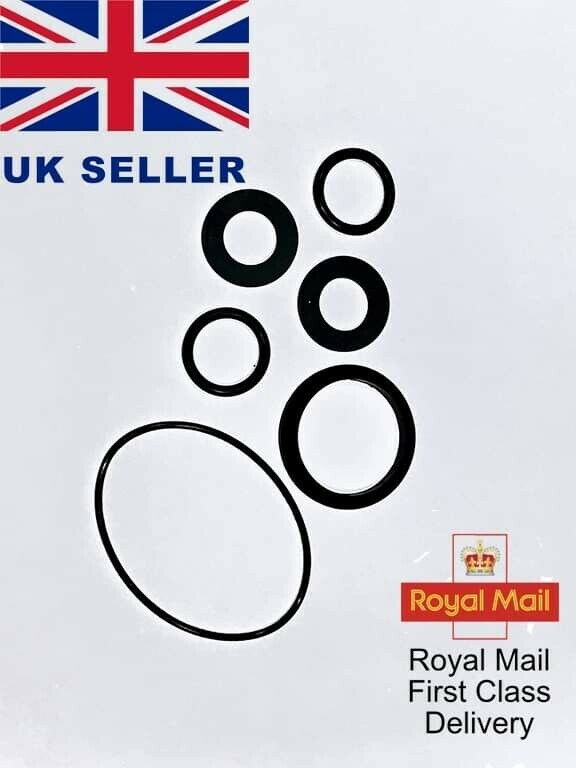 lay z spa- seals water pump kit A+B/ C pump O rings /  flange seal (6 seals).