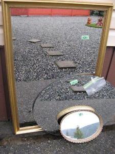 Various sizes mirrors
