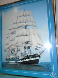 Print of Tall Ship