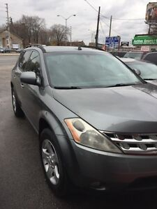 2005 Nissan Murano FULLY CERTIFIED AFFORDABLE LUXURY SUV 100%APP