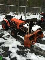 """B5100 4x4 Kubota Diesel Tractor w/46"""" Front Snowblower"""