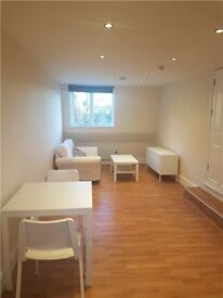 STUNNING 1 bed fully furnished 1 minute walk from train station wooden floors lots of light modern