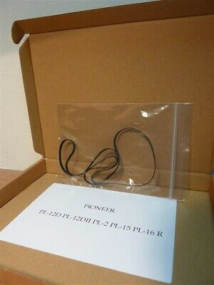 Turntable Drive Belt PIONEER PL-12D PL-12DII PL-2 PL-15 PL-16 Boxed For SHIPPING