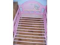 Me To You Tatty Teddy Character Toddler/ Cot Bed Frame 140x70cms. Excellent condition!