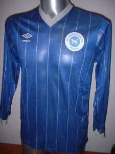 St Johnstone Umbro Vintage Adult Medium Shirt Jersey Football Soccer Top 1980 6
