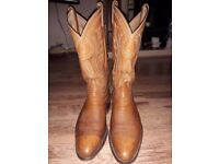 COWBOY BOOTS size 42 or UK 8 used