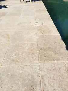 Tumbled Travertine Tile & Pavers $59.50+gst Per m2 Seven Hills Blacktown Area Preview