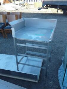 Stainless Steel Commerical Work Table with bakery rack !SAVE!