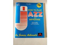 "Jamey Aebersold's ""How to play jazz"""