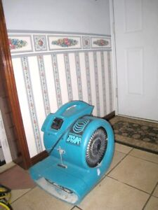 Commercial Dri-eaz 3-speed Air mover/Floor dryer, great working