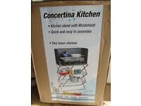 Concertina Kitchen **New in Box** Ideal for Campling or Campervans etc...