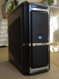 Core i5 Gaming PC - GTX670 OC AMP, CPU i5-3470 (3.6GHz x4), SSD + 1TB HDD, 8GB RAM, Wi-Fi N + ant.