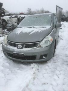 2007 Nissan Versa just in for parts at Pic N Save!