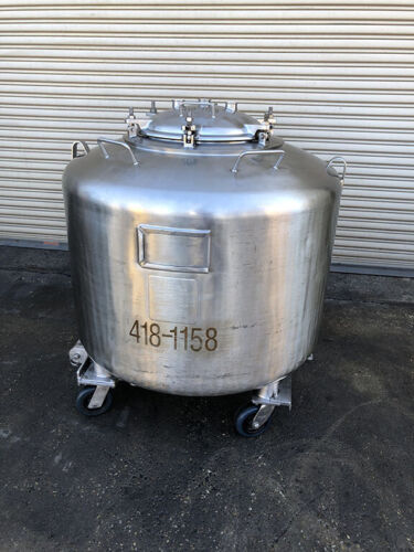 DCI 720 Liter Pressure Rated Stainless Tank